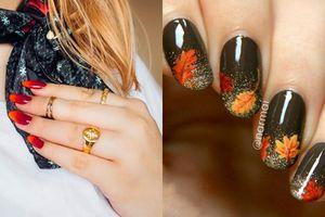 Loạt mẫu móng tay siêu điệu, siêu xinh cho nàng tỏa sáng lung linh trong mùa thu