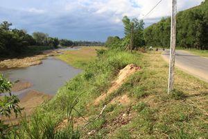Hoài Ân (Bình Định): Thấp thỏm nỗi lo sạt lở bờ sông mùa bão, lũ