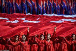 Hình ảnh ấn tượng kỷ niệm Quốc khánh đặc biệt hiếm có của Triều Tiên