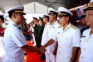 Tàu khu trục Hải quân Hàn Quốc thăm TP. Đà Nẵng