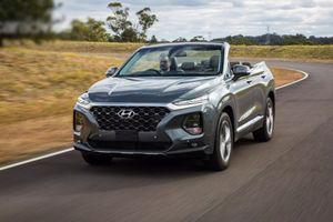 Hyundai 'hét giá' 3,3 tỷ đồng cho chiếc Hyundai Santa Fe 2019 mui trần