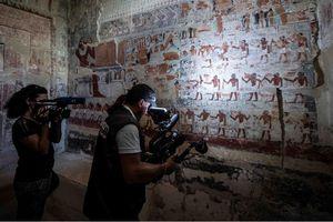 Ai Cập mở cửa khu lăng mộ 4.000 năm tuổi cho du khách