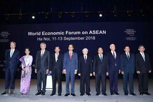 Khai mạc WEF ASEAN 2018: Để ASEAN chiến thắng trong cuộc đua làm chủ kỷ nguyên 4.0