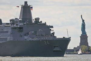 Bất ngờ chiến hạm Mỹ đóng bằng thép Trung tâm Thương mại Thế giới