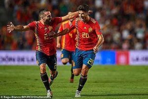 Tây Ban Nha vùi dập Croatia 6 bàn không gỡ