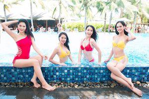 Thí sinh Hoa hậu Việt Nam nóng bỏng với bikini