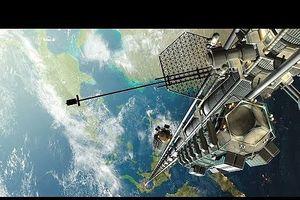Nhật Bản xây dựng thang máy vũ trụ đưa con người vào không gian