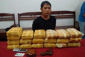 Biên phòng bắt 114.000 viên ma túy tổng hợp