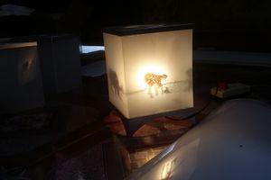 Độc đáo đèn kéo quân hình 3D của nghệ nhân Vũ Văn Sinh