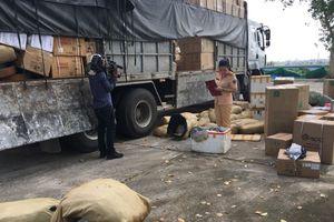 Bắt giữ vụ vận chuyển 1.250 kg da đà điểu không có giấy tờ hợp lệ