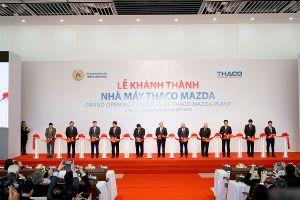 Thaco khánh thành nhà máy lắp ráp Mazda, công suất lắp ráp 100.000 xe/năm