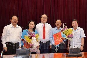 Bà Nguyễn Thị Lệ sang làm Trưởng ban tổ chức Thành ủy TP.HCM