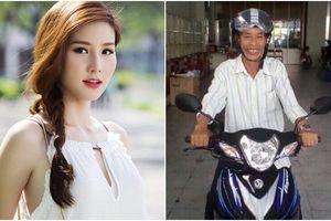 Diễm My 9X mua xe máy tặng 'người hùng' giải cứu 11 người dân vụ sập cầu Cần Thơ
