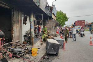 Chập điện cháy cửa hàng điện lạnh, mẹ cùng 2 con chết thảm