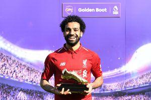 Vượt Ronaldo, Salah thiết lập kỷ lục ghi bàn mới tại giải Ngoại hạng