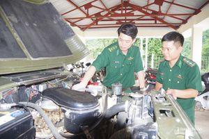 Kiểm tra toàn diện các đơn vị Biên phòng ở Nghệ An