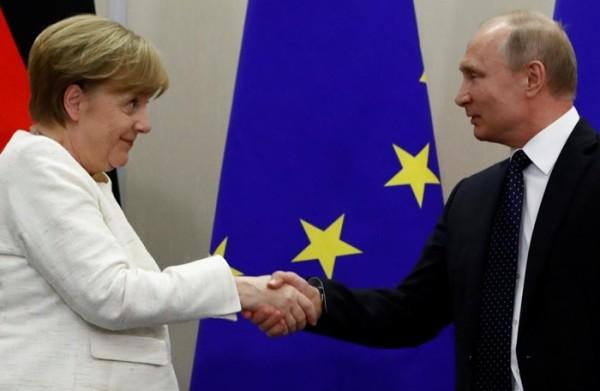 Đức bất ngờ 'bắt tay' Nga bất chấp Tổng thống Trump dọa trừng phạt