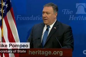 Mỹ dọa trừng phạt Iran 'mạnh mẽ nhất trong lịch sử'