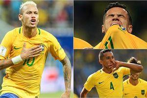 Brazil – chàng chiến binh siêu Xayda của thế giới bóng đá