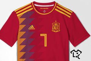 Áo đấu của người Tây Ban Nha-Màu đỏ cuồng nộ