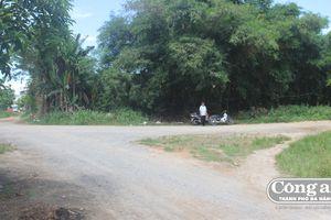 Các tuyến đường thuộc dự án Khu dân cư bàu Gia Phước (Q. Sơn Trà): Chậm thi công do mặt bằng còn 'vướng'