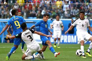 Coutinho và Neymar tỏa sáng, Brazil đánh bại Costa Rica
