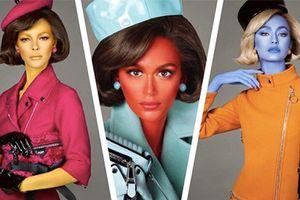 Dàn mẫu hóa người ngoài hành tinh trong bộ ảnh thời trang