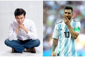 Ngh s Tit Cng: Không bit Messi s làm c gì  World Cup 2022?