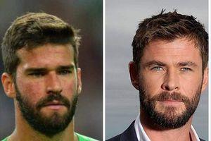 Thủ môn Brazil giống như đúc anh em 'Thần Sấm' Chris Hemsworth