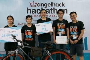 Tặng điểm khi đi xe buýt, ý tưởng đoạt giải nhất AngelHack Hackathon 2018