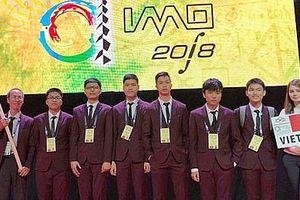 Học sinh Việt Nam đăng quang tại các kỳ Olympic quốc tế