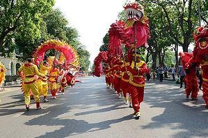 Lễ hội đường phố 'Tinh hoa Hà Nội - Hội tụ tỏa sáng'