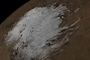 Phát hiện hồ nước kỳ lạ trên sao Hỏa