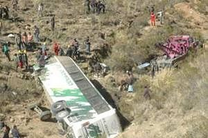Tai nạn giao thông thảm khốc tại Bolivia khiến 18 thiệt mạng