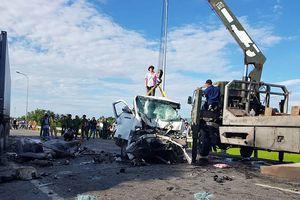 Hiện trường vụ tai nạn 'kinh hoàng' khiến 13 người đi rước dâu thiệt mạng