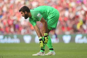 Thủ thành đắt giá nhất thế giới Alisson giữ sạch lưới trong ngày ra mắt Liverpool