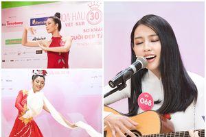 Thí sinh Hoa hậu Việt Nam 2018 thể hiện tài năng khiến khán giả bất ngờ