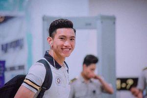 Chân dung em út Đội tuyển U23 Việt Nam: đẹp trai, cao 1,85m và nụ cười 'mê mệt'
