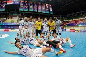 Thái Sơn Nam lập kỳ tích lần đầu vào chung kết giải futsal châu Á