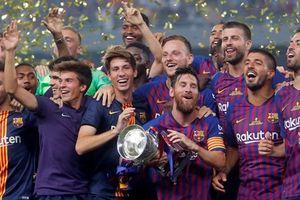 Hạ Sevilla, Barcelona lần thứ 13 giành Siêu cúp Tây Ban Nha