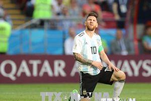 Lionel Messi li tm thi chia tay i tuyn quc gia Argentina