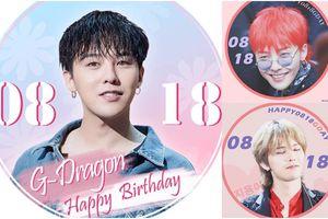 Vắng mặt nhân vật chính, fan Hàn Quốc và thế giới chúc mừng sinh nhật thứ 31 của G-Dragon ra sao?