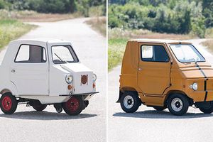 Bộ đôi ôtô nhỏ nhất thế giới có giá ít nhất 149 triệu đồng