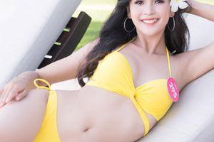 Top 43 Hoa hậu VN khoe dáng với áo tắm trước chung kết