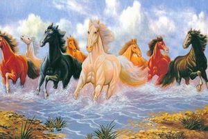 4 bức tranh phong thủy rước tài lộc, của may mắn đến nhà