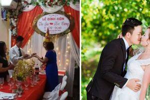 Cô dâu 61 lấy chồng 26 tuổi tiết lộ lễ đính hôn lãng mạn như mơ