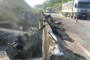 Lào Cai phân luồng giao thông sau vụ TNGT khiến cầu Ngòi Thủ hỏng