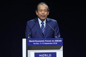 Bế mạc WEF ASEAN 2018: Đổi mới sáng tạo với tầm nhìn khác biệt