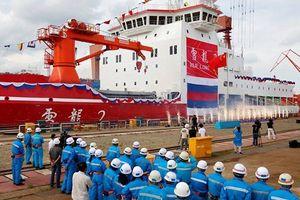 Trung Quốc ra mắt tàu phá băng nội địa Tuyết Long 2