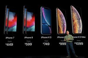 iPhone XS, iPhone XS Max, iPhone XR: Tên ca b ba iPhone mi ra mt gây tò mò vi tín  qu táo khuyt